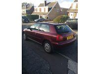 Audi A3 SE 1.8l for sale - 1998 - 10 month MOT