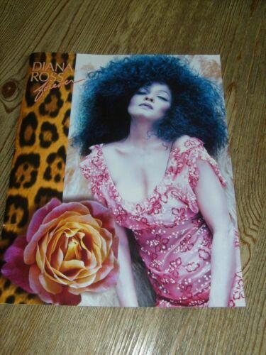 Diana Ross Concert Program 1993  Forever Tour