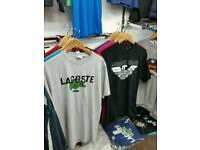 Nike lacoste armani tshirts NEW ALL S-XXL