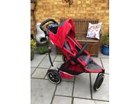 Phil and Teds Classic Double Pushchair