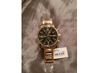 Fossil Men's Watch | BQ1702 | Gold Stainless Steel Chronograph | £165 RRP
