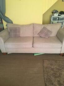 Large three seater sofa