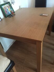 Dining table £15