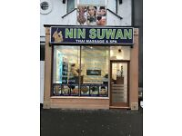 "NinSuWan Thai Massage ""We are now fully open - special Deals February mornings"""