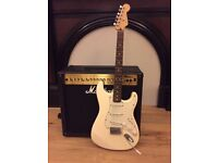 Mexican Fender Stratocaster & Marshall amp