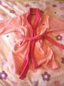 18-24 Months Baby Girl Dressing Gown