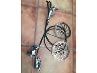 Avid elixir r brakeset for mountain bike