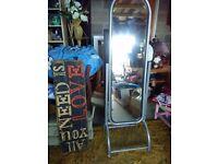 metal swivel mirror