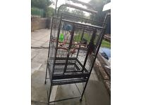 Good condition parrot cage £90 ono