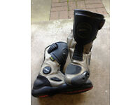 hein gericke motorcycle boots hiprotec sheltex size 43 - size 9