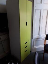 Children wardrobe/ green
