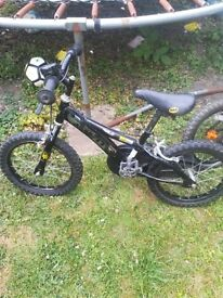 Boys bicycle 4 to 7