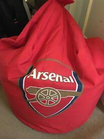 Red Arsenal Bean Bag