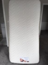 Single Memory Touch No Turn Mattress with Orthopaedic Spring Unit, Good condition