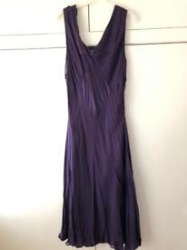 Purple floaty dress