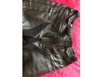 Joe Rocket Leather Bike Trousers