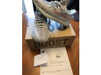 Adidas yeezy boost blue tint uk 9 brand new