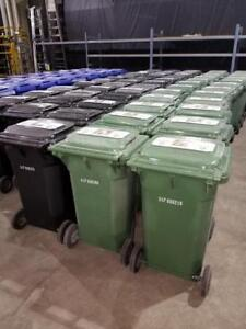 35 Gallon Rolling Garbage/Recycling Bins - Only $49!