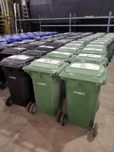 Rolling Garbage/Recycling Bins - Only $49!