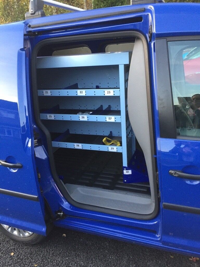 Ex British Gas Racking Fitted in Volkswagen Caddy