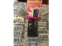 Aiwa small compact dictaphone - as new with 6 extra tapes.