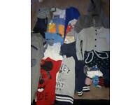 huge winter bundle boys clothing age 3-4 years