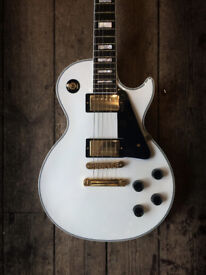 Gibson Custom Shop Les Paul Custom Arctic White