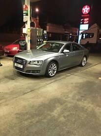Audi A8 3.0 TDI Quattro 2011 8 gears fully loaded MOT & SERVICE HISTORY Px bmw Mercedes Range Rover