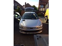 Peugeot 206 silver great car!!