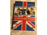 DVDs - Boxed Set Of LITTLE BRITAIN Series 1 & 2