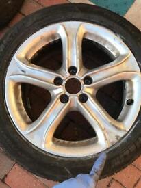 Audi A4 alloys & michillen tyres full set 4