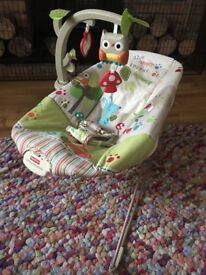 Forest friends baby bouncer