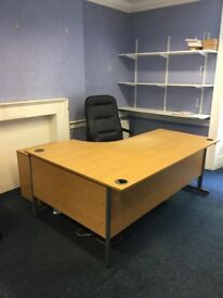 Office Furniture For Free - desks , chairs , filing cabinets to a good home for free !