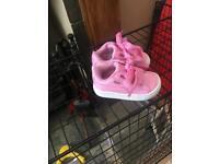 Pink Puma trainers