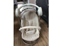 Mamas & papas swing chair with music & lights