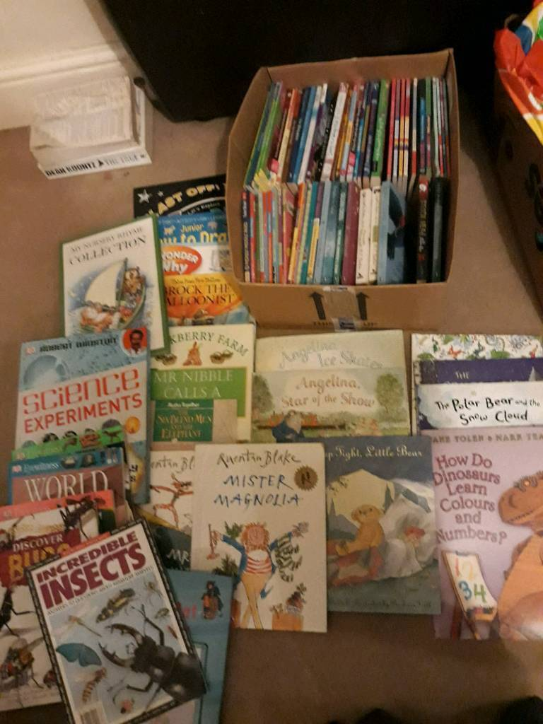 Over 80 children's/ young adult books