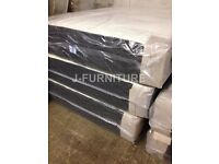 "LUXURY MEMORY FOAM AND ORTHOPAEDIC 10"" MEDIUM FIRM MATTRESS WITH SPRINGS.ALL SIZES!"