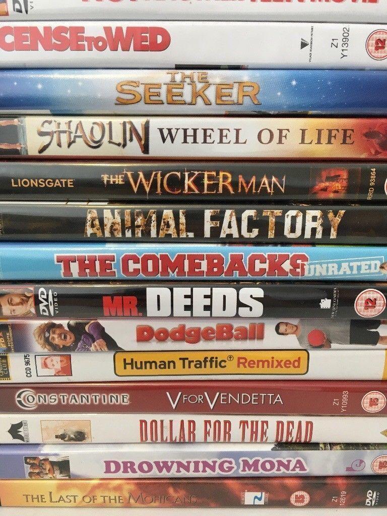 DVDs job lot 4. ~49 DVDs for £15.