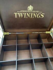 Twinings tea bag organiser