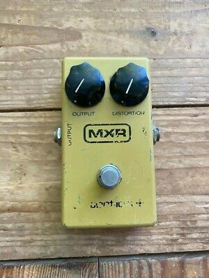 Vintage MXR Distortion plus guitar effect pedal - Original block logo