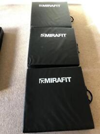 Four Gymnastics Mats