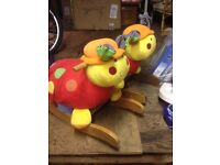 Lotty ladybird rocker. Choice of 2