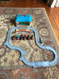 Mini Thomas the tank engine track and trains