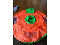 Inflatable pool trainer seat 3-12months