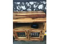 Tv unit coffee table small table