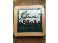 CLUEDO WOODEN BOX NOSTALGIA GAME PARKER BROTHERS. NEW SEALED BOX. RARE LIMITED COLLECTIBLE EDITION.