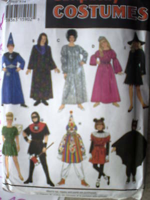 9175 UNCUT Vintage Simplicity SEWING Pattern Child's Halloween Costume Mix/Match](Kids Matching Halloween Costumes)