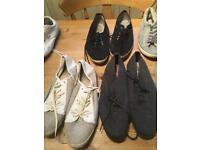 Men's canvas shoes trainers