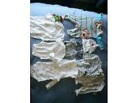 Various Winnie the Pooh baby clothes, 0 - 12 months