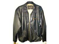 Best Quality Leather Jacket by Lakeland Size Medium